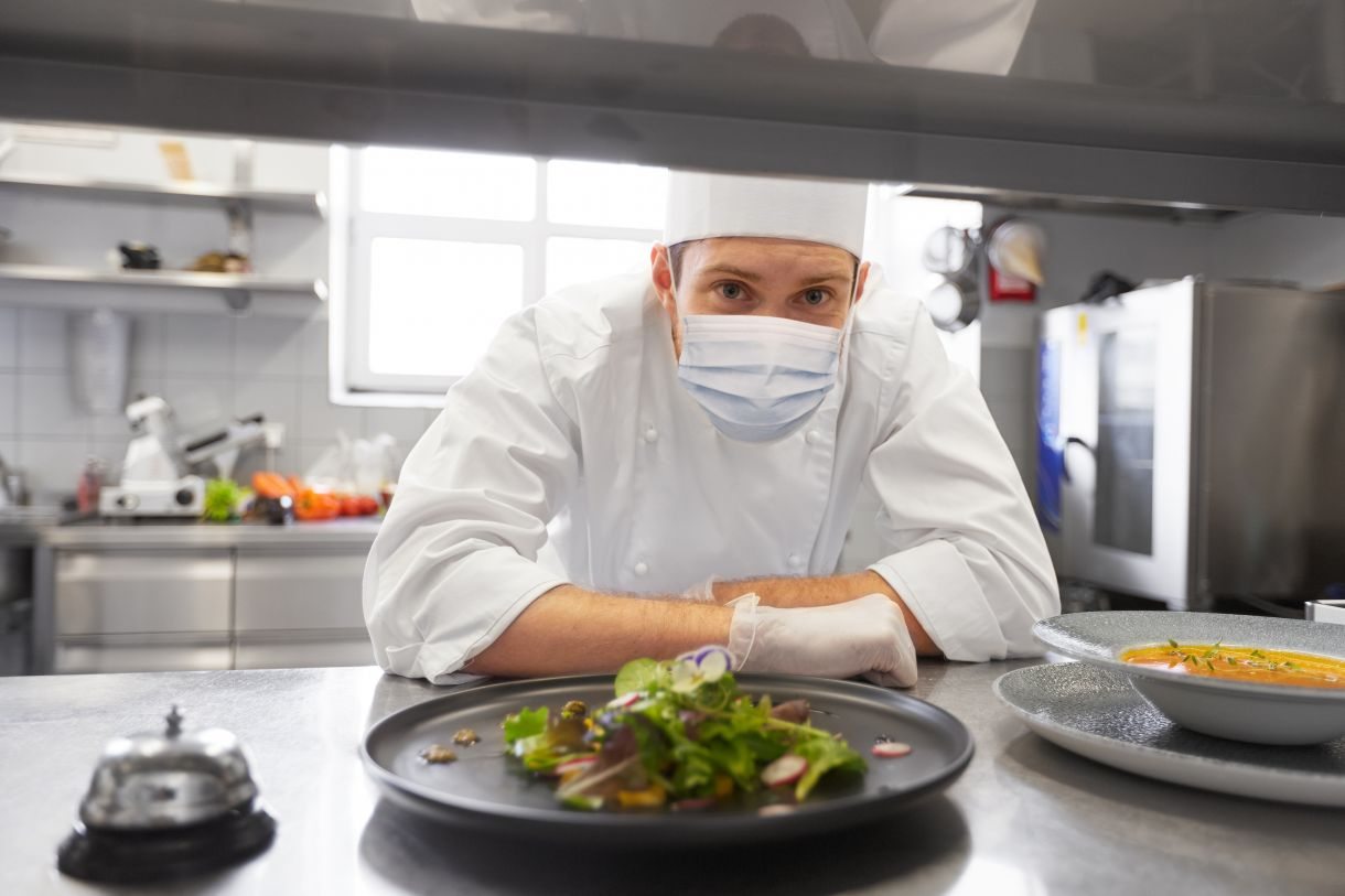 Managing Social Distance in Foodservice Areas