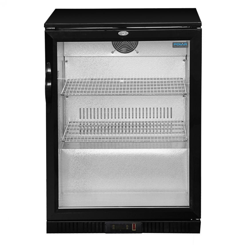 Under Counter Glass Fronted Fridge Refrigeration Jongor