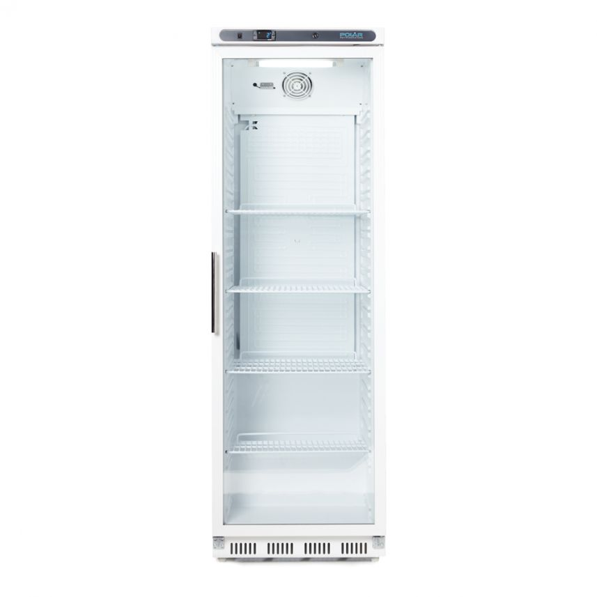 Glass Fronted Fridge - Single Door image