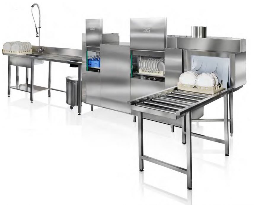 Rack Conveyor Dishwasher (High Capacity) image